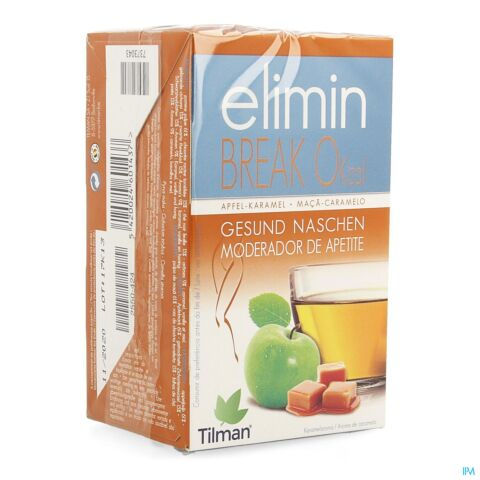 Tilman Elimin Break 0Kcal Anti-Grignotage Pomme-Caramel 20 Infusions