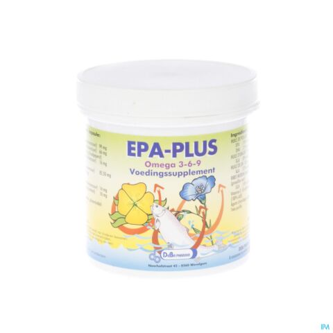 EPA-PLUS CITRON CAPS 180 DEBA