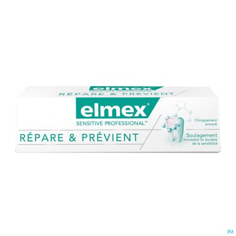 Elmex Sensitive Professional Repair & Prevent Dentifrice Tube 75ml