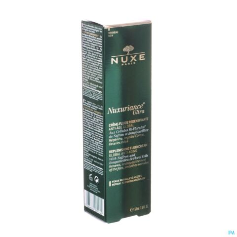 Nuxe Nuxuriance Ultra Crème Fluide Redensifiante Tube Pompe 50ml