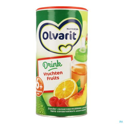 Olvarit Drink Fruits Granulés 6m+ 200g
