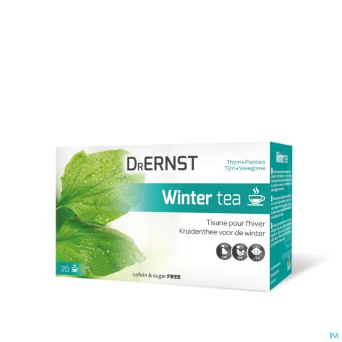 Dr Ernst Winter Tea Tisane Thym & Plantain 20 Infusions