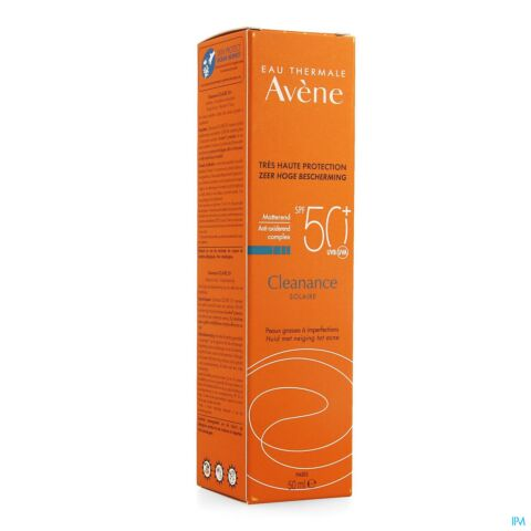 Avène Protection Solaire Cleanance Solaire IP50+ Tube Pompe 50ml