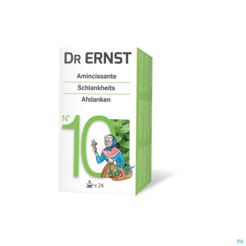 Dr Ernst N°10 Tisane Amaigrissante 24 Infusions