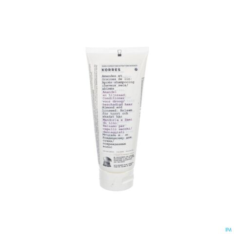 KORRES KH CONDITIONER ALMOND&LINESEED 200ML