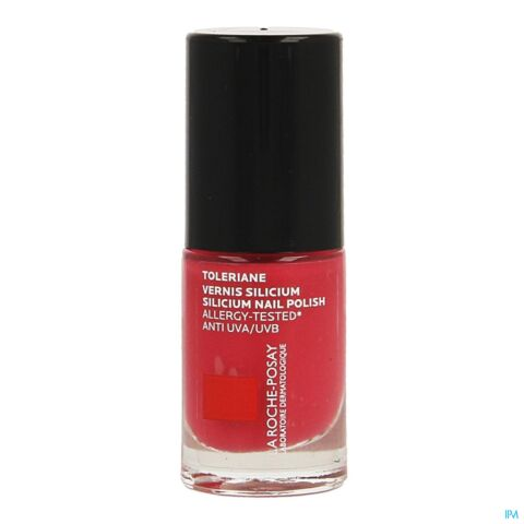 La Roche-Posay Toleriane Silicium Vernis à Ongles Fortifiant & Protecteur 18. Rose Vif 6ml