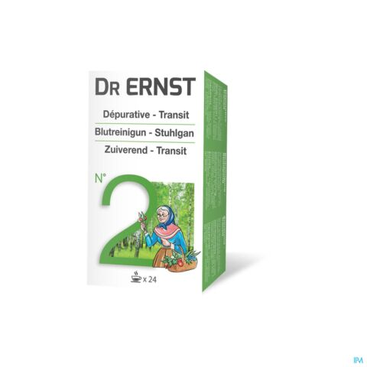 Dr Ernst N°2 Tisane Dépurative - Transit 24 Infusions