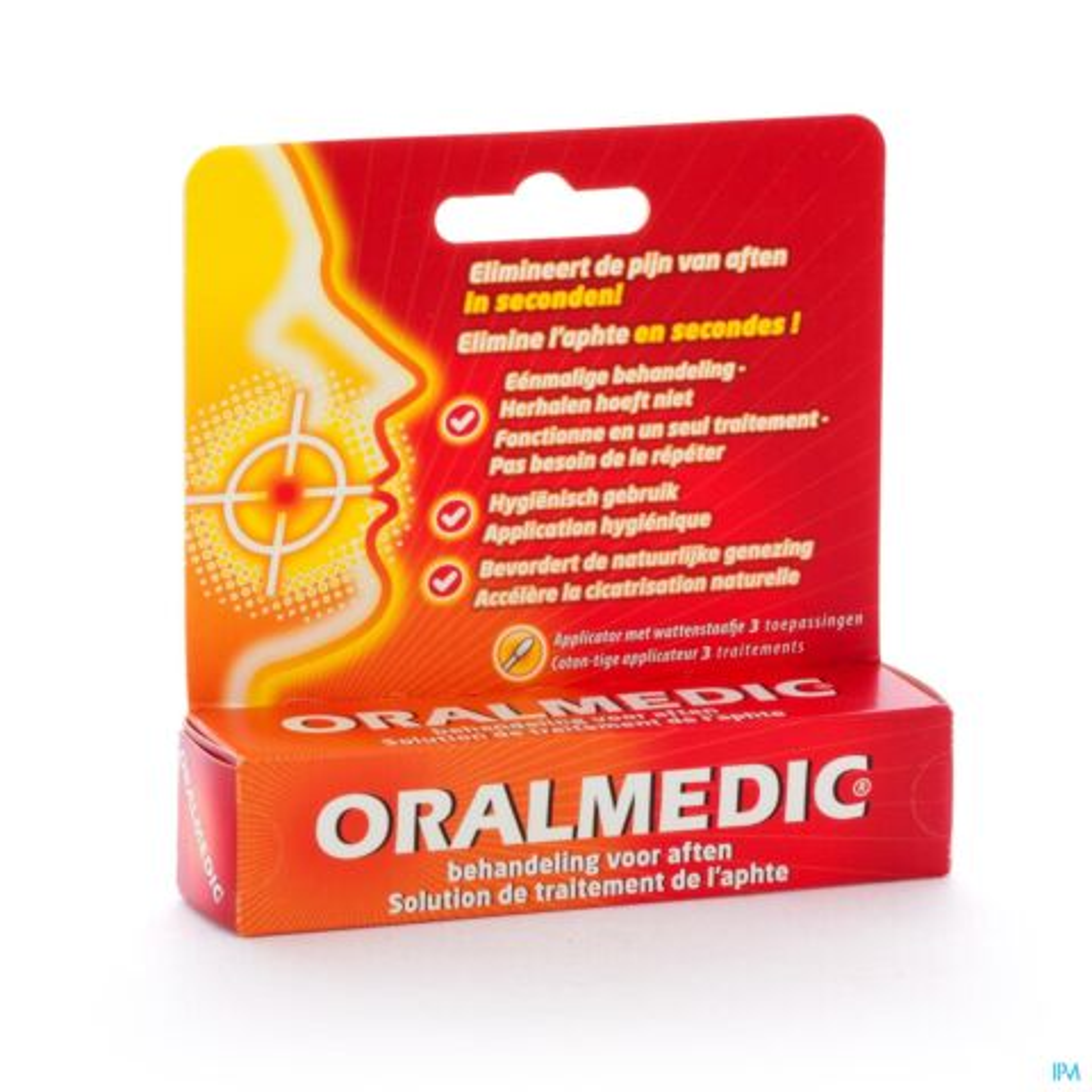 ixX Pharma Oralmedic contre les Apthes 3 Applicateurs