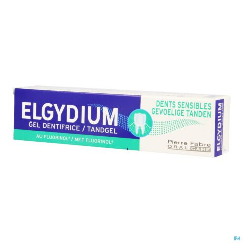 Elgydium Dents Sensibles Gel Dentifrice Tube 75ml