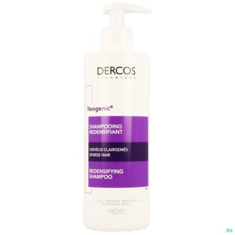 Vichy Dercos Neogenic Shampooing Redensifiant Cheveux Clairsemés Flacon Pompe 400ml