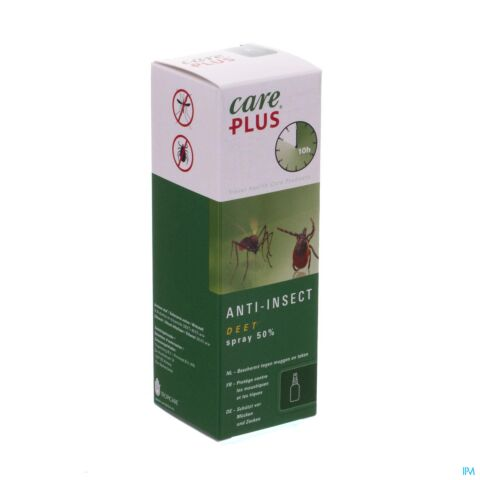 Care Plus DEET 50% Anti-Insectes Spray 60ml