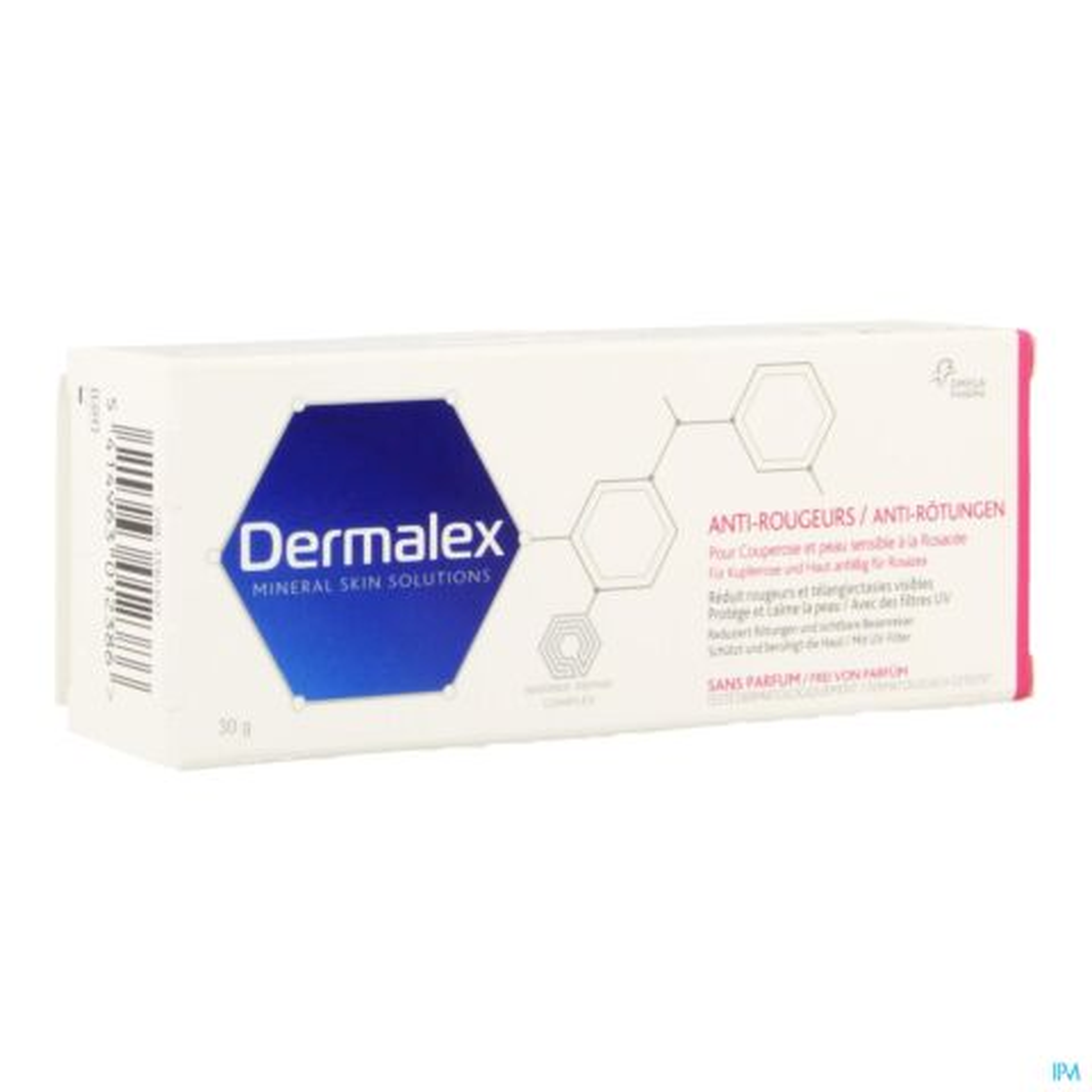 Dermalex Crème Anti-Rougeurs Tube 30g