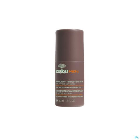 Nuxe Men Déodorant Protection 24h Roll-On 50ml