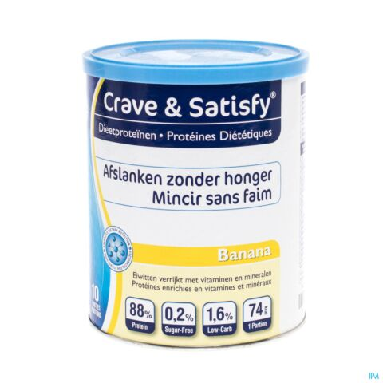 Crave Satisfy Proteines Diet Banana Pdr Pot 200g