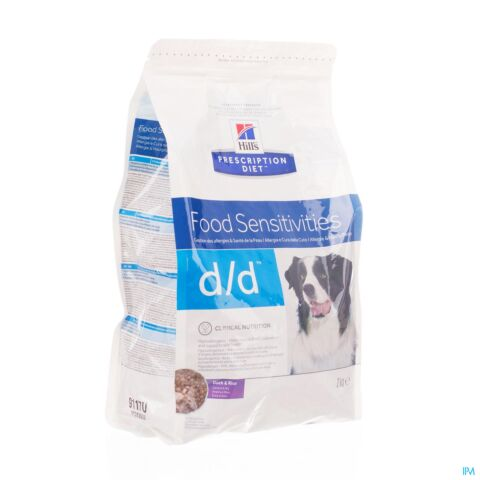 Hills Prescrip Diet Canine Dd Duckrice 5kg 9118m