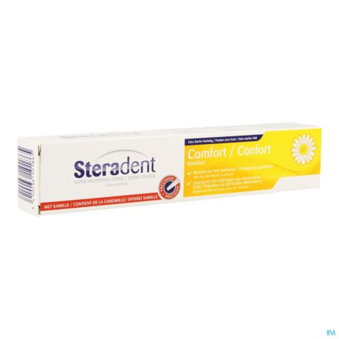 STERADENT CREME FIXATION COMFORT CAMOMILLE 65G