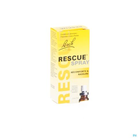 Fleurs de Bach Rescue Réconforte & Rassure Spray 7ml
