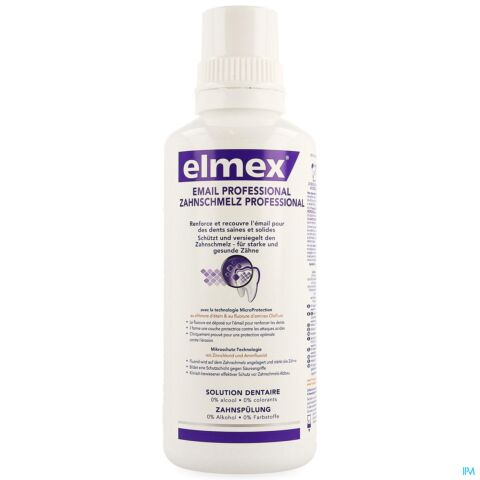 ELMEX PROTECTION EMAIL PROFESSIONAL EAU DENT.400ML