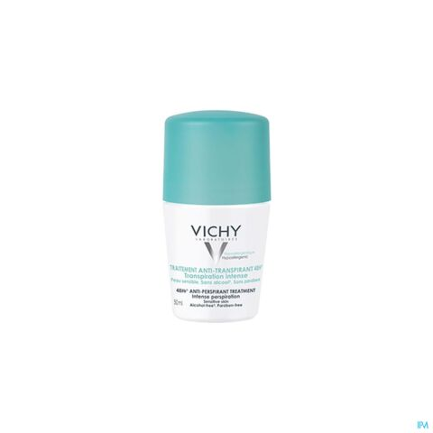 Vichy Déodorant Anti-Transpirant Roll-On 48h 50ml