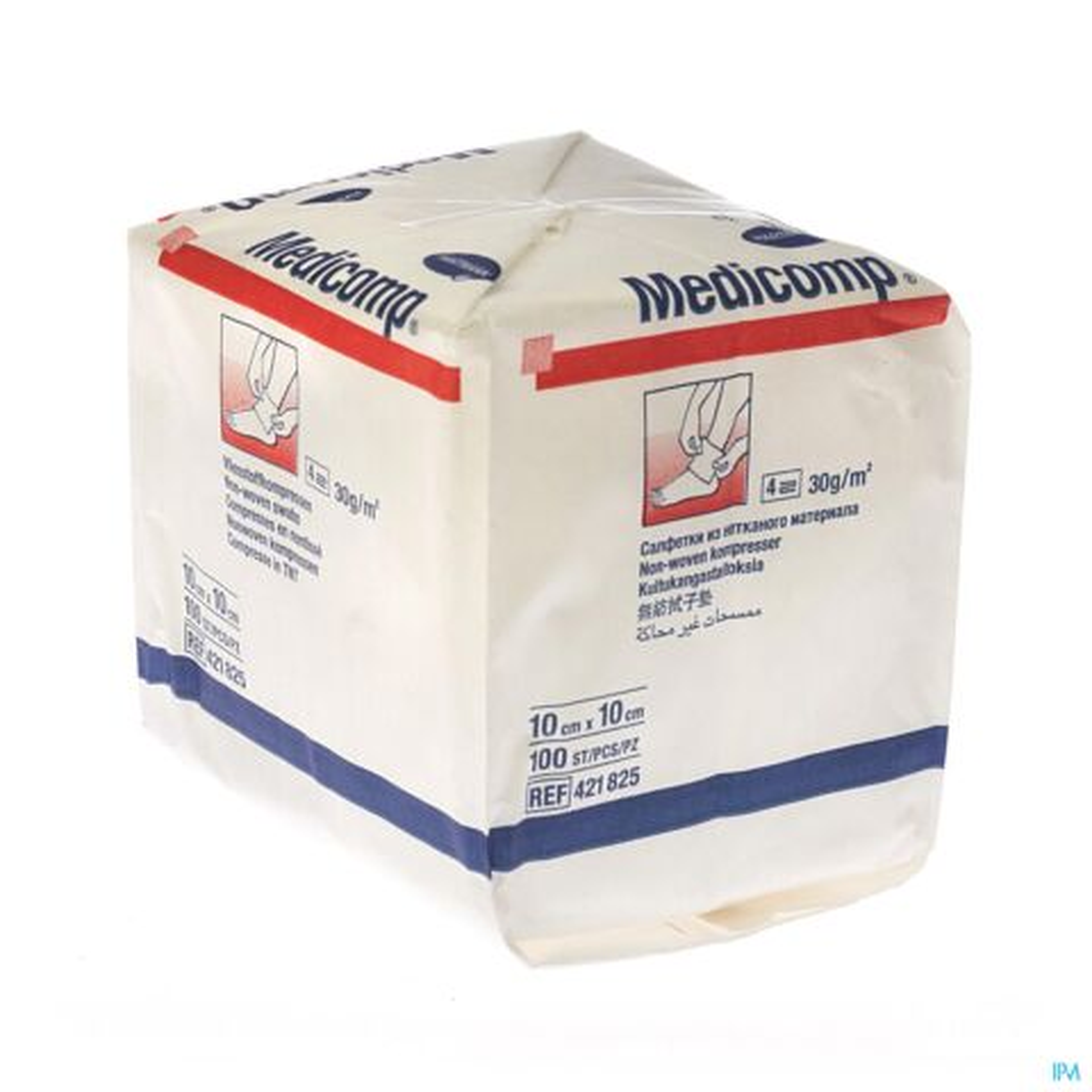 Hartmann Medicomp Compresses Non Stériles 4 plis 10x10cm 100 Pièces
