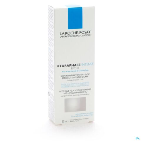 La Roche-Posay Hydraphase Intense Riche Flacon Airless 50ml