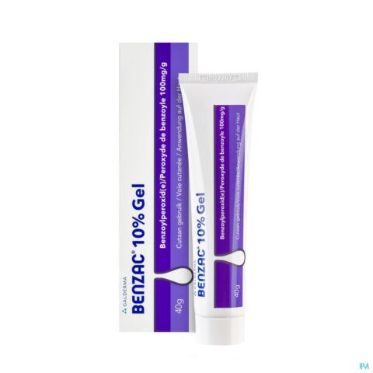 Benzac 10% Gel Tube 40g