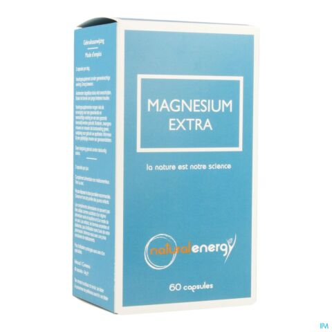 Natural Energy Magnesium Extra 60 Gélules