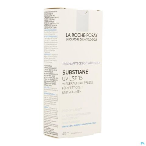 La Roche-Posay Substiane UV IP15 Soin Anti-Âge Reconstituant Fondamental Tube 40ml