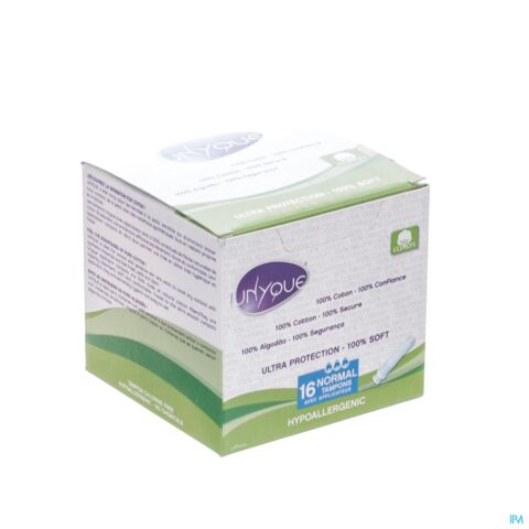 UNYQUE TAMPONS NORMAL+APPLICAT. 16