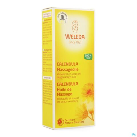 Weleda Huile de Massage au Calendula Spray 100ml