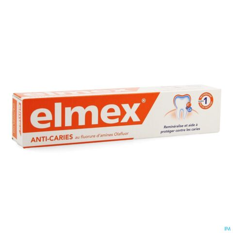 Elmex Dentifrice Anti Caries Adulte Tube 75ml
