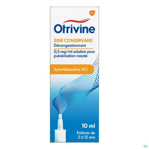 OTRIVINE ANTI-RHIN SINE CONSERV. 0,05% SPRAY 10ML