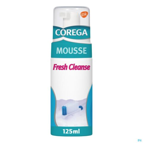Corega Fresh Cleanse Mousse Flacon Airless 125ml