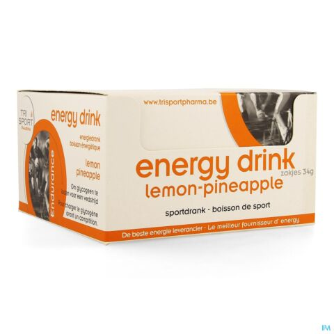 Trisportpharma Energy Drink Lemon Pineap Pdr12x34g