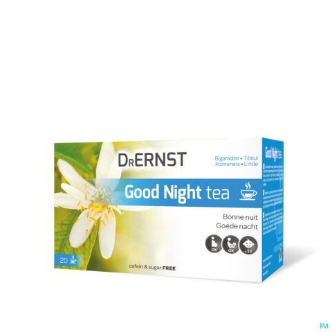 Dr Ernst Good Night Tea Tisane Bonne Nuit Bigaradier & Tilleul 20 Infusions
