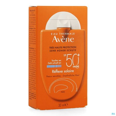 Avène Protection Solaire Réflexe Solaire IP50+ Tube Extra-Plat 50ml