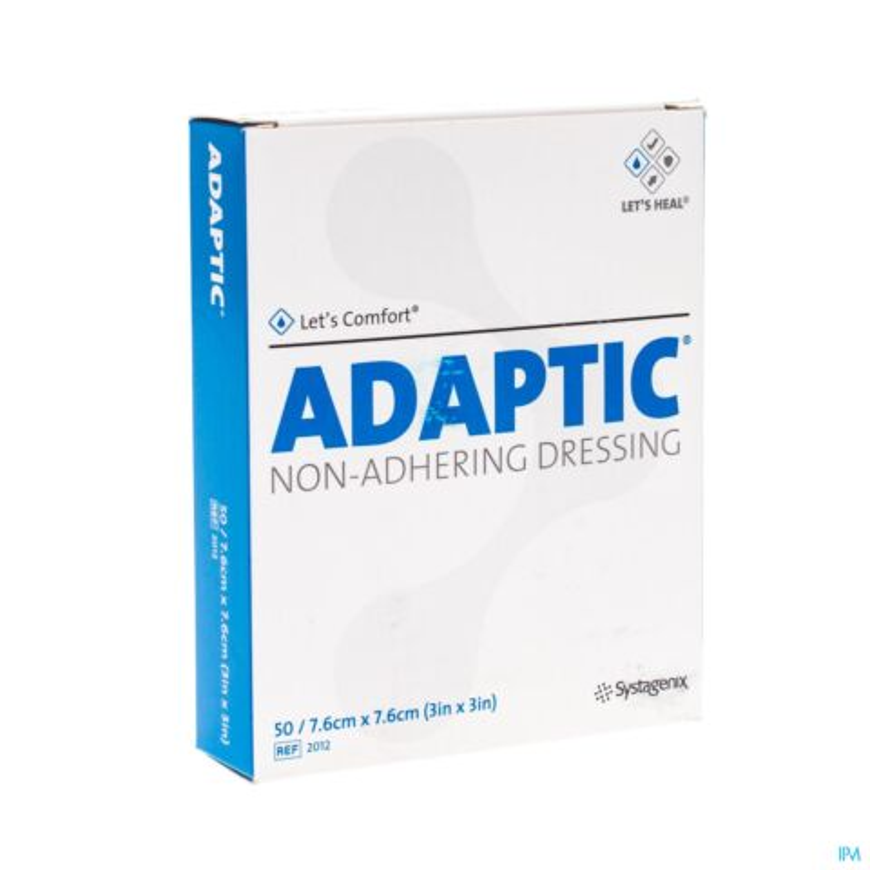 ADAPTIC CP IMPREG. 7,5X 7,5CM 50 2012DE