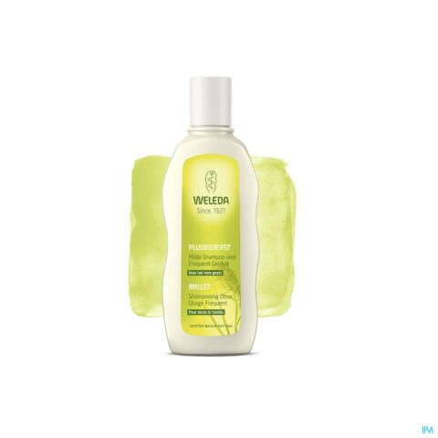 Weleda Shampooing Usage Fréquent au Millet Flacon 190ml