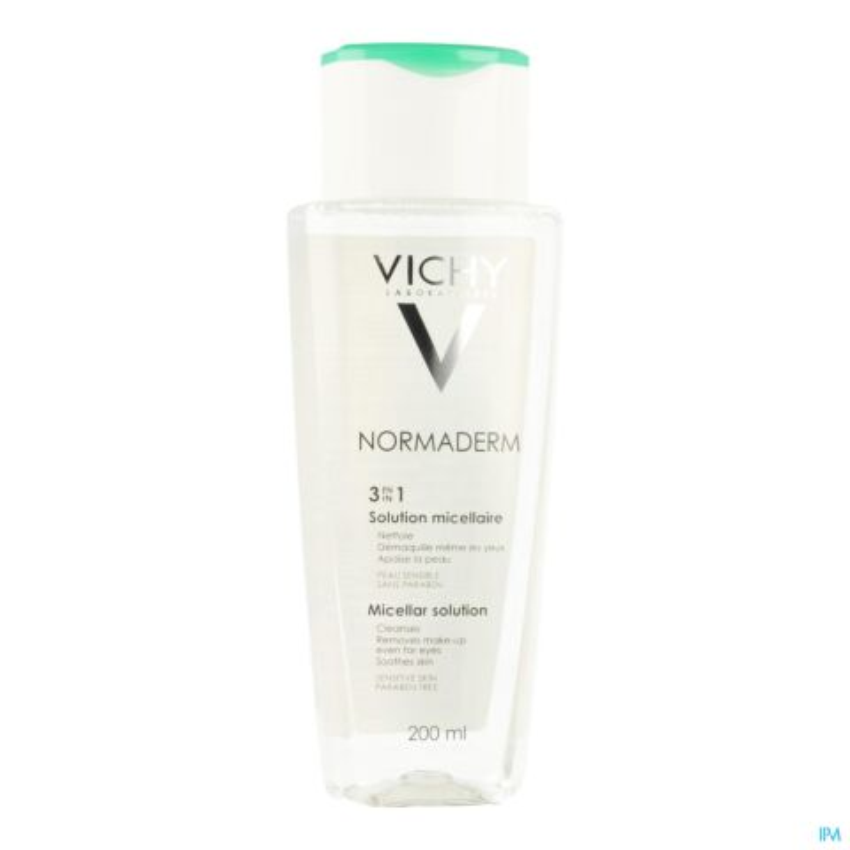 Vichy Normaderm Solution Micellaire 3en1 Peaux à Imperfections et Sensibles Flacon 200ml