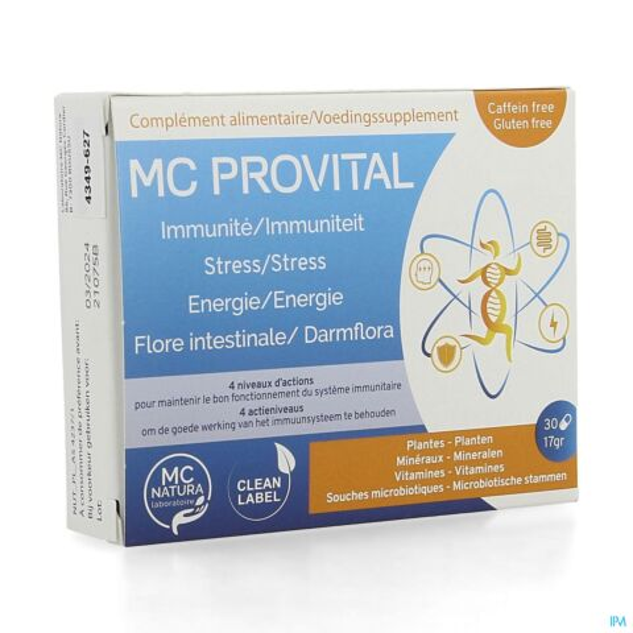 MC PROVITAL CAPS 30