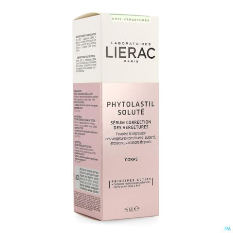 Lierac Phytolastil Soluté Sérum Correction des Vergetures Flacon Airless 75ml