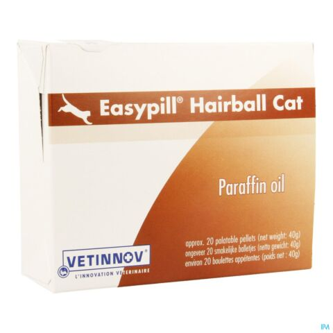 EASYPILL HAIRBALL PATE CHAT 40G