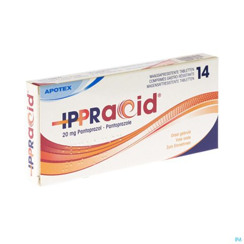 IPPRACID 20 MG GASTRO RESIST COMP 14