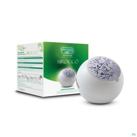 Phytosun Diffuseur d'Huiles Essentielles Sirocco 1 Pièce