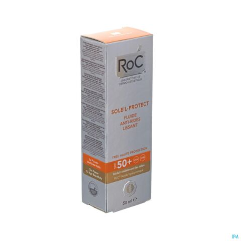 Roc Soleil-Protect Fluide Anti-Rides Lissant IP50+ Tube 50ml