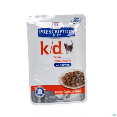 Hills Prescrip Diet Feline Kd Salmon 12x85g 1884m