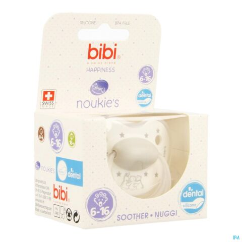 Bibi Happiness Dental Noukie's Stars 6-16m 1 Pièce