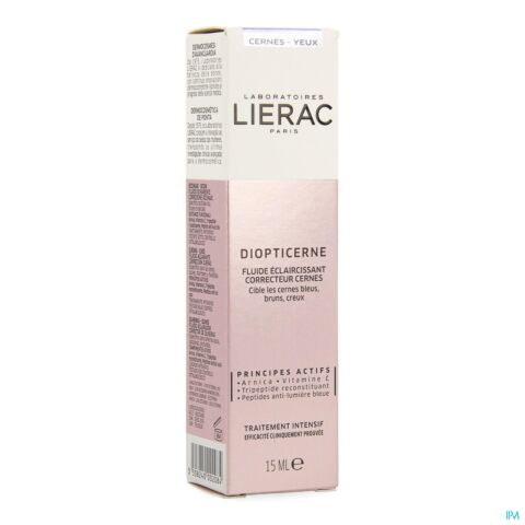 LIERAC DIOPTICERNE TUBE 15ML