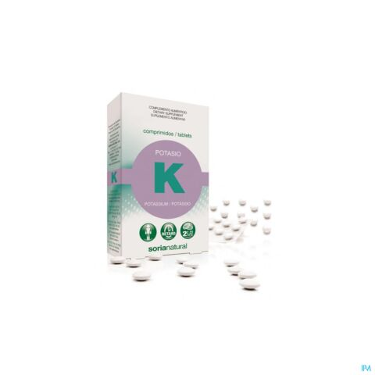 SORIA POTASSIUM / KALIUM RETARD COMP 20