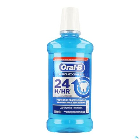 Oral-B Pro-Expert Protection Professionnelle Bain de Bouche Flacon 500ml